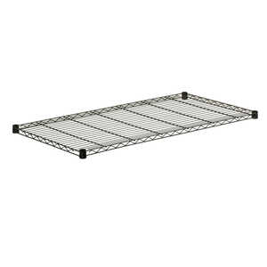 Honey Can Do  18 in. D x 48 in. W x 1 in. H Steel  Shelf Rack