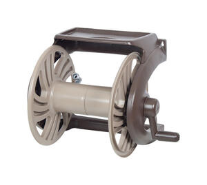 Ames  NeverLeak  225 ft. Wall Mount  Brown  Hose Reel