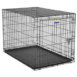 Contour  Medium  Steel  Dog Crate  24.8 in. H