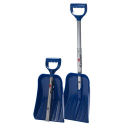 Garant 8.75 in. W x 29.75 in. L Poly Compact Snow Shovel