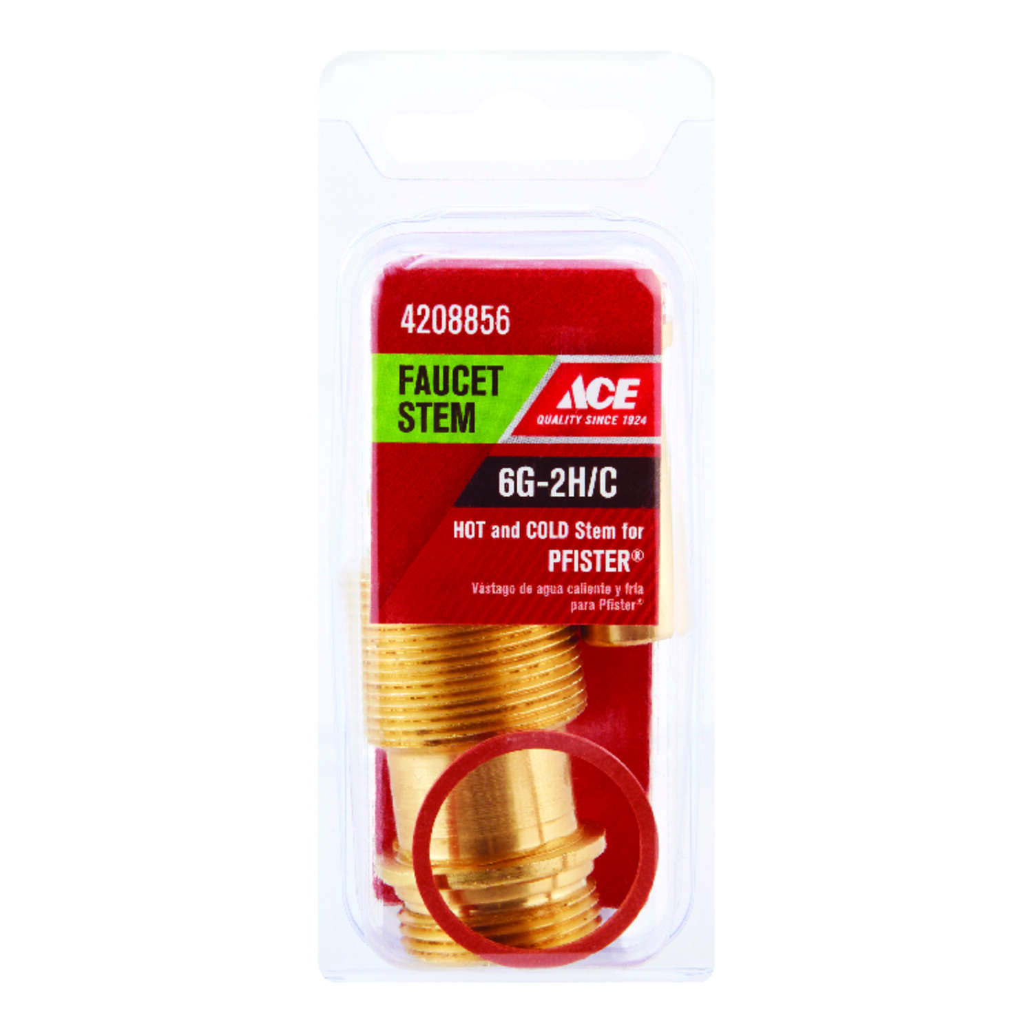 Ace  6G-2H/C  Hot and Cold  Faucet Stem  For Pfister