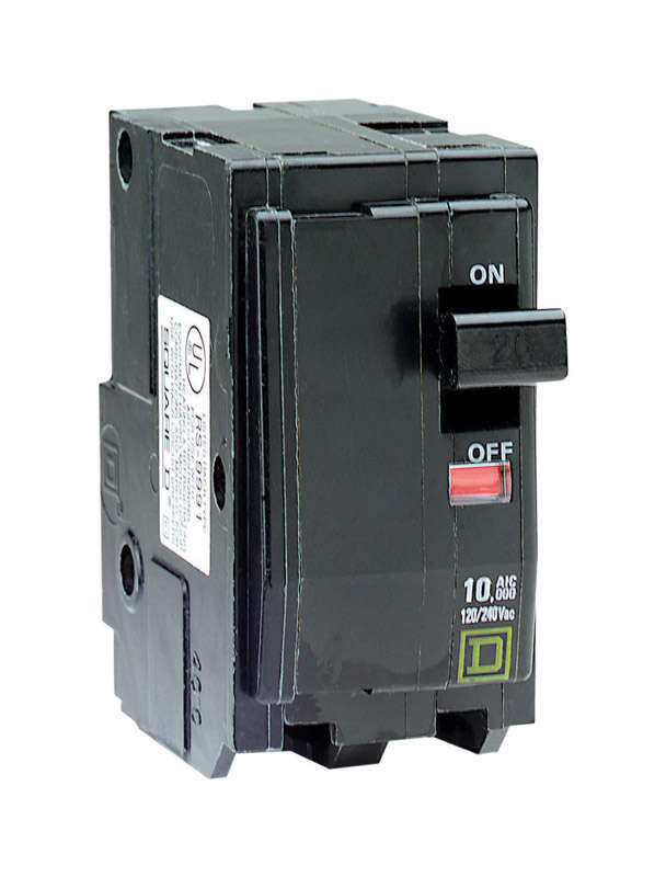 Square D  QO  80 amps Plug In  2-Pole  Circuit Breaker