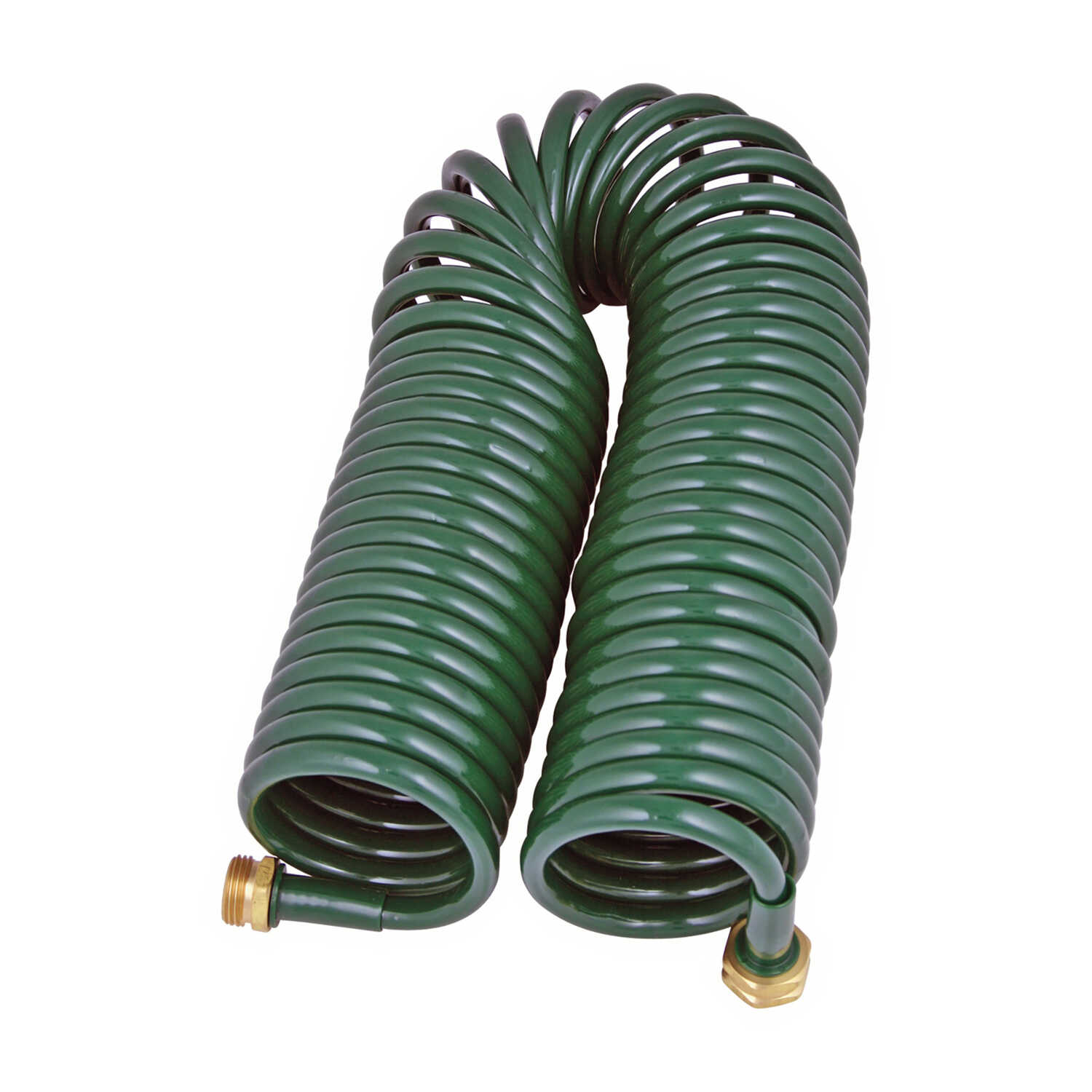 GARDIEN  0.5 in. Dia. Green  Hose  Coil