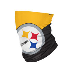 Foco Pittsburgh Steelers Gaiter Scarf Face Mask 1 pk