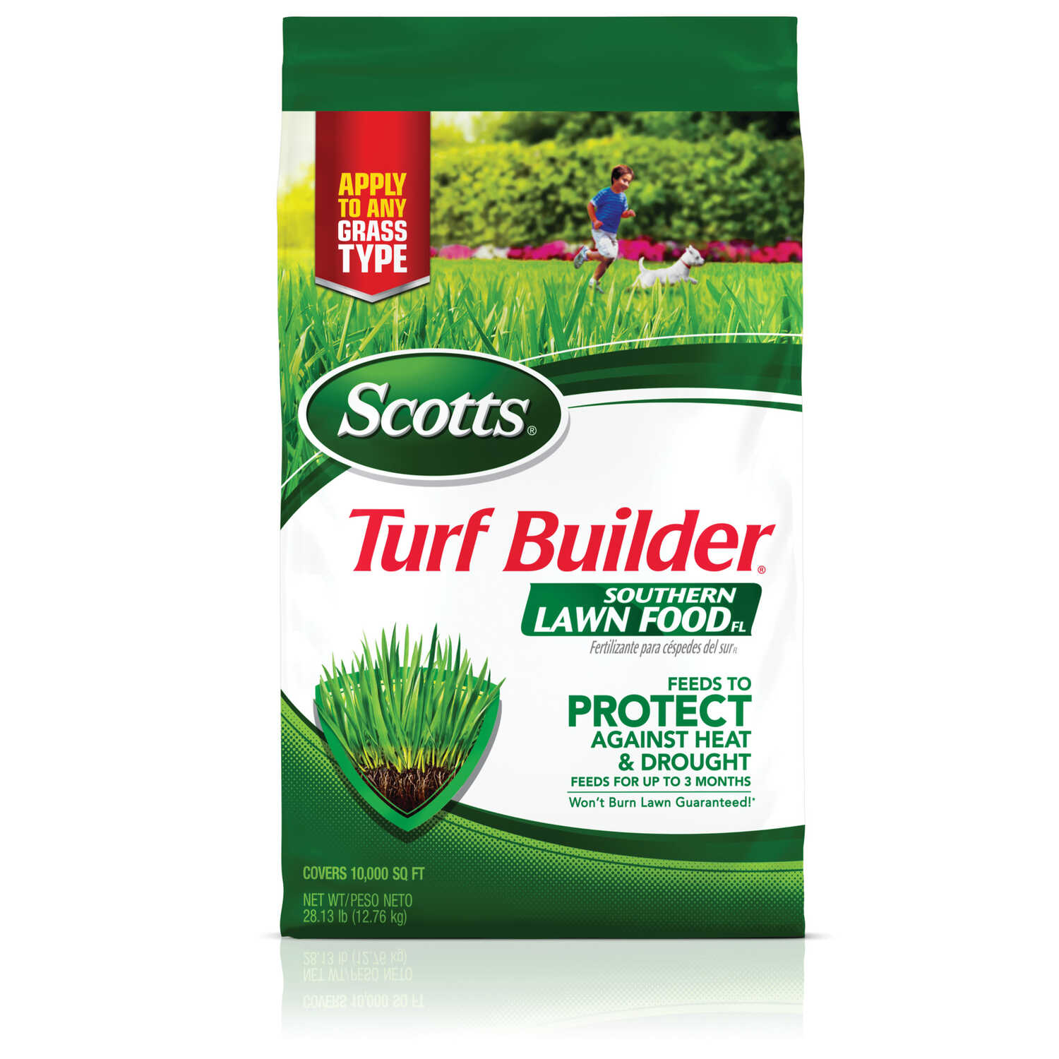 Scotts  Turf Builder  32-0-10  Lawn Food  For All Florida Grasses 28.87 lb. 10000 sq. ft.