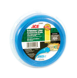 Ace  Commercial Grade  0.065 in. Dia. x 220 ft. L Trimmer Line
