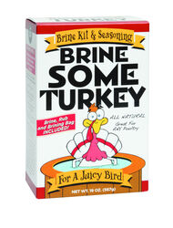 Brine Some Turkey Poultry Brine Kit and Seasoning 19 oz.