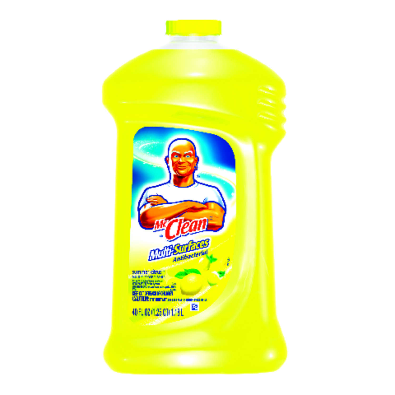 Mr. Clean  Summer Citrus Scent All Purpose Cleaner  40 oz. Liquid