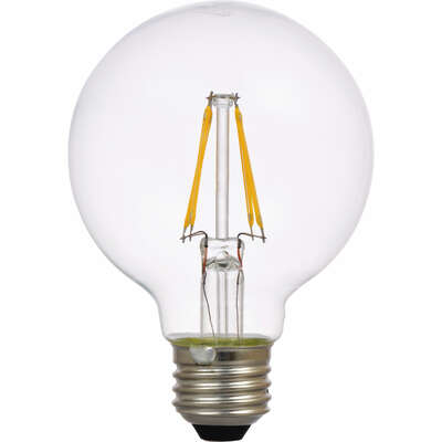 Sylvania  Natural  G25  E26 (Medium)  LED Bulb  Soft White  40 Watt Equivalence 2 pk