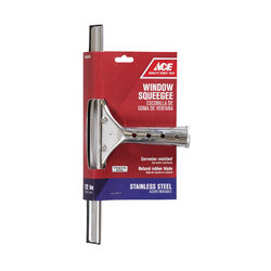 Ace 12 in. Stainless Steel Window Squeegee