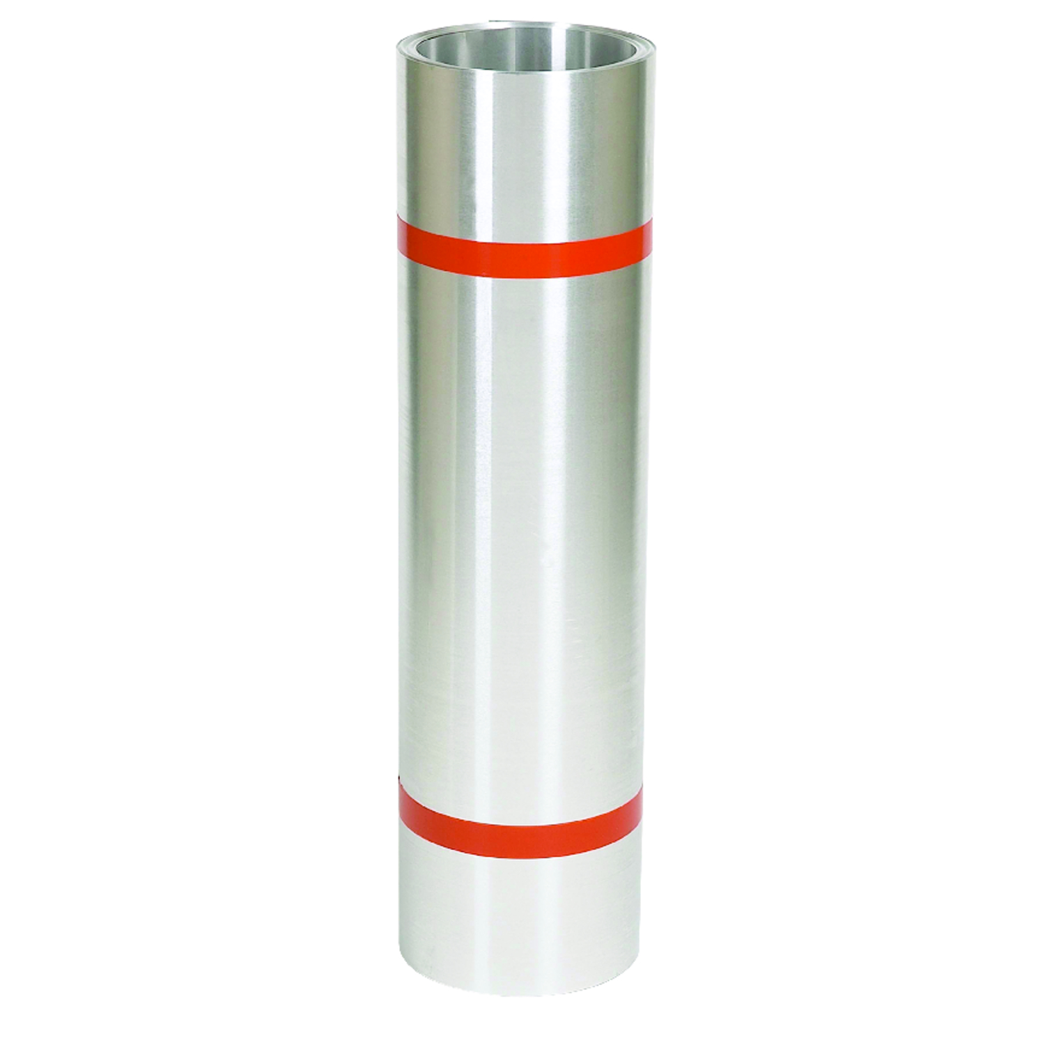 Amerimax  20 in. H x 20 in. W x 10 ft. L Silver  Aluminum  Cylindrical  Roll Valley Flashing