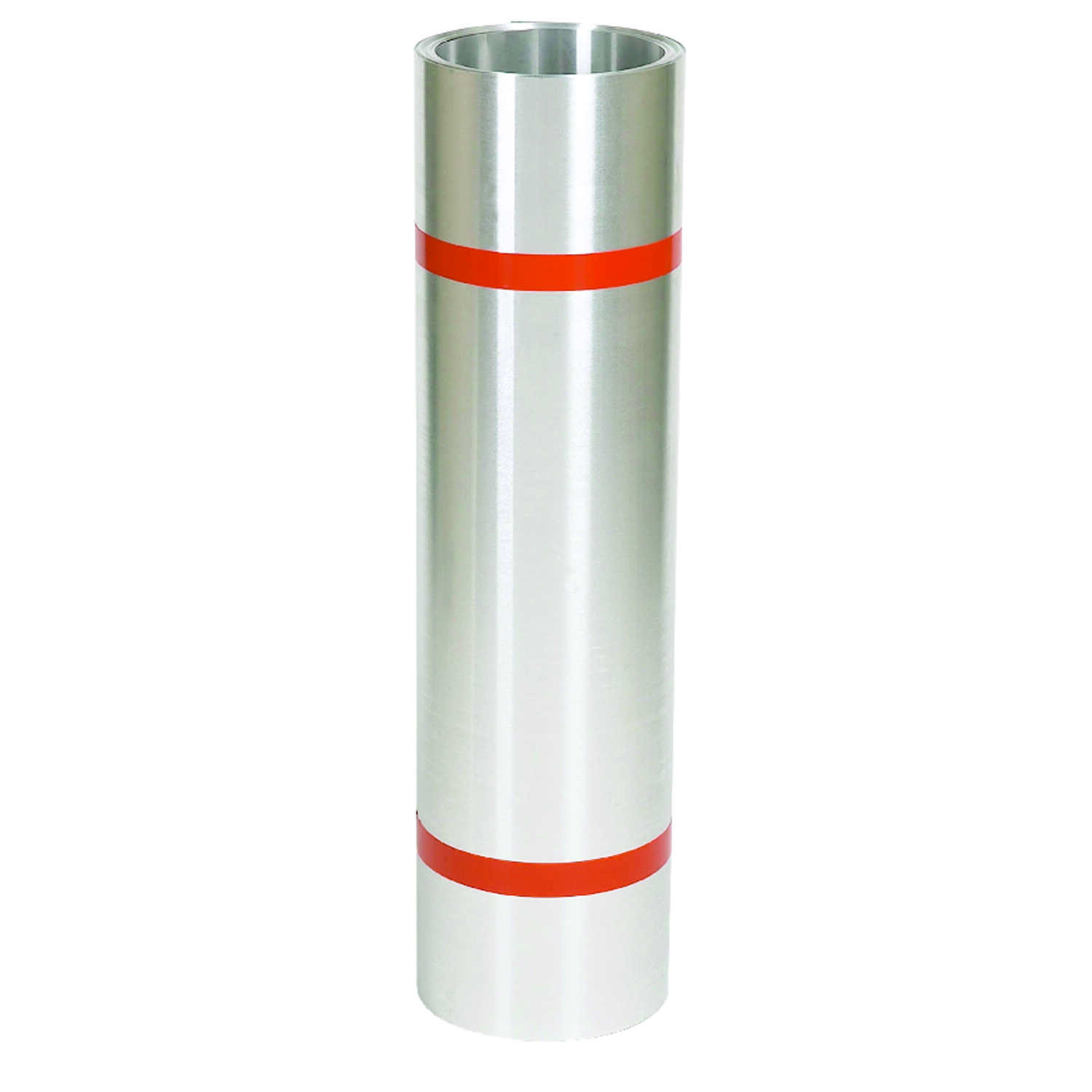 Amerimax  20 in. H x 3.25 in. W x 10 ft. L Silver  Aluminum  Roll  Roll Valley Flashing