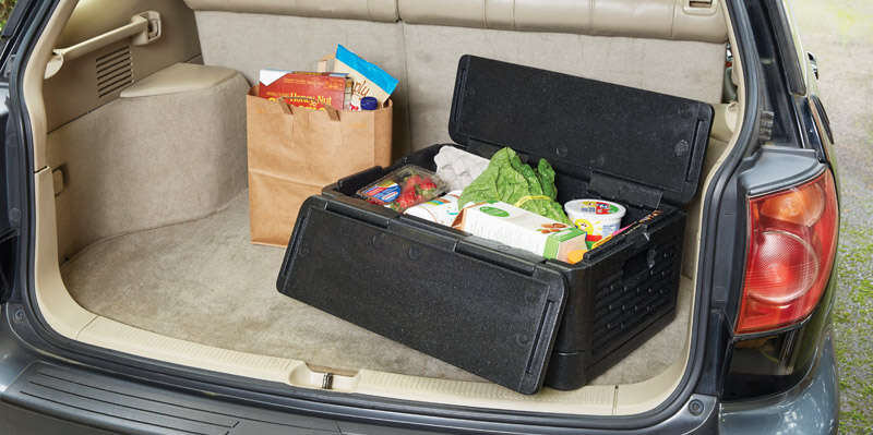 Chill Chest  As Seen On TV  Cooler  41 qt. 1 pk Black