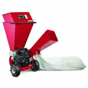 Troy-Bilt  3 in. Dia. 250 cc Gasoline  4-Cycle  Wood Chipper Shredder
