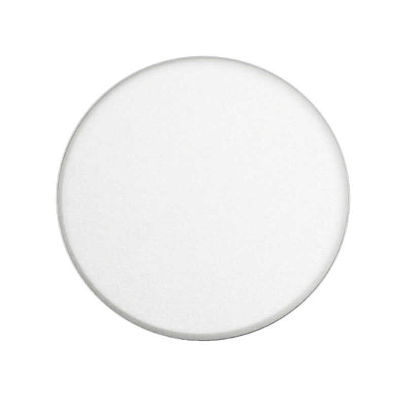 Prime-Line  5 in. H x 5 in. W x 5 in. L Vinyl  White  Wall Protector  Mounts to wall