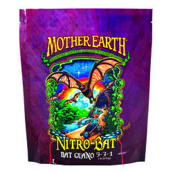 Mother Earth  Nitro Bat Guano  Hydroponic Plant Supplement  2 lb.