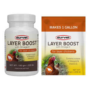 Durvet Layer Boost  Powder  Supplement  For Poultry 100 gm