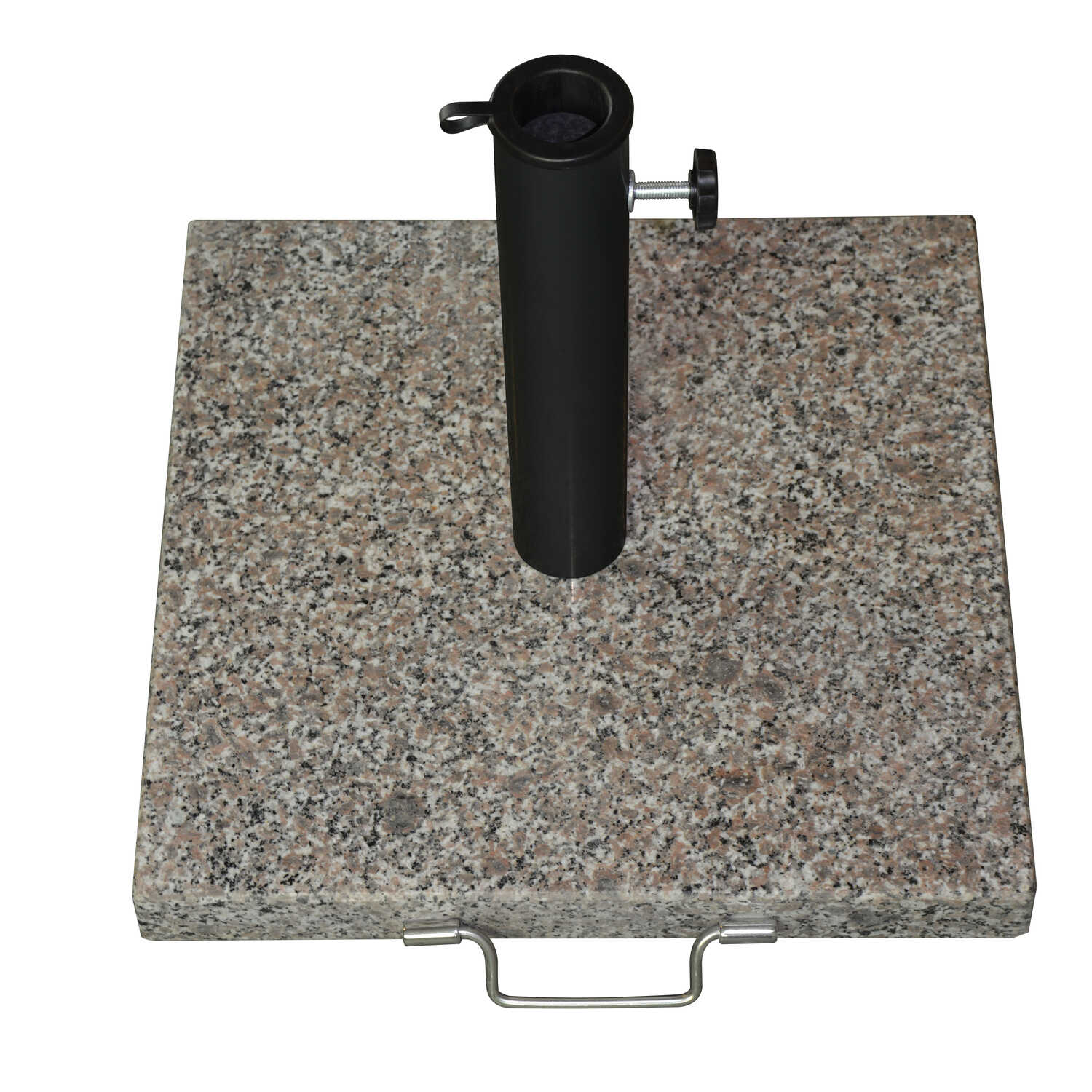 Bond  Gray  Granite  Umbrella Base  17 in. L x 17 in. W x 12.6 in. H