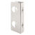 Prime-Line 10.875 in. H x 3.875 in. L Brushed Stainless Steel Stainless Steel Door Guard