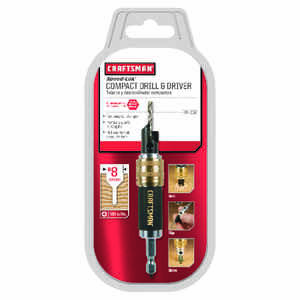 Craftsman  0.1  Dia. Steel  Countersink  3/16 in. Hex Shank  2 pc.