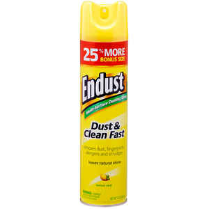 Endust  Lemon Scent Furniture Polish  12.5 oz. Spray