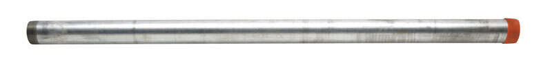 B&K Mueller  2 in. Dia. x 48 in. L Galvanized  Steel  Pre-Cut Pipe
