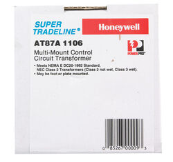 Honeywell  24 volt Standard Transformer