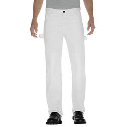 Dickies  Men's  Double Knee Pants  34x32  White