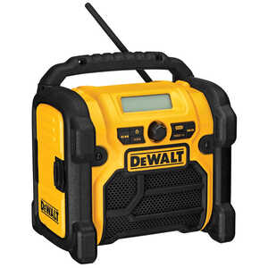 DeWalt  18 volts Compact Worksite Radio  1 pc. Lithium-Ion/Ni-Cad/NiMH