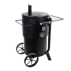 Oklahoma Joes Bronco Charcoal Drum Smoker Black