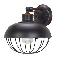 Globe  Elior  10.24 in. H x 9.84 in. W x 10.67 in. L Oil Rubbed Bronze  Bronze  Downlight