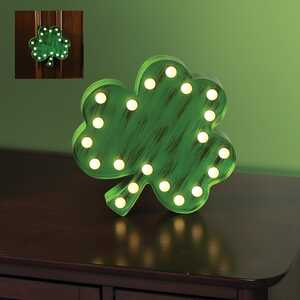 Sylvania  St Patricks Day  Metal  Tabletop Decoration  1 each