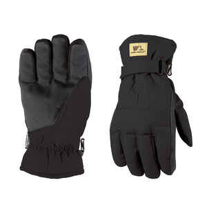 Wells Lamont  L  Duck Fabric  Winter  Black  Gloves