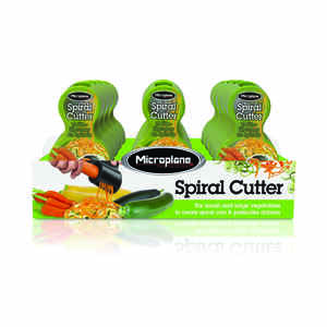 Microplane  Green  Plastic  Spiral Vegetable Cutter