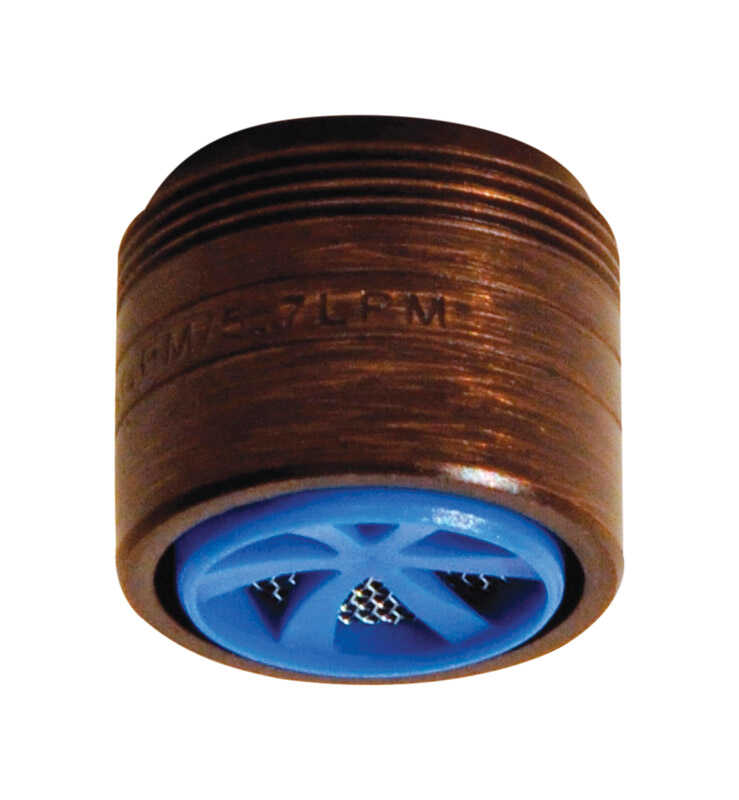 Danco  Oil-Rubbed Bronze  55/64 in.  x 15/16 in.  Dual Thread Aerator  1 pack