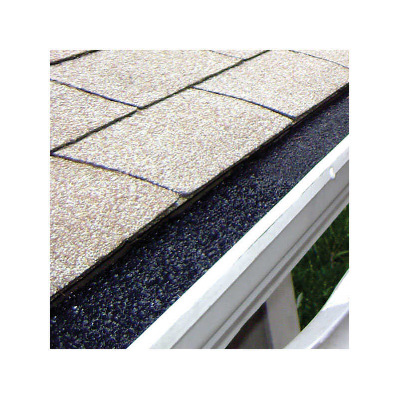 GutterStuff  5 in. W x 48 in. L Black  Polyester Foam  Gutter Guard