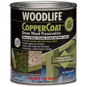 Woodlife  CopperCoat  Green  1 qt. Water-Based  Wood Preservative