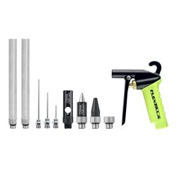 Flexzilla  Air Blow Gun Kit  1/4 in. FNPT  100 psi 10 pc.