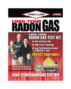 Pro-Lab  Radon Gas Test Kit  1 pk