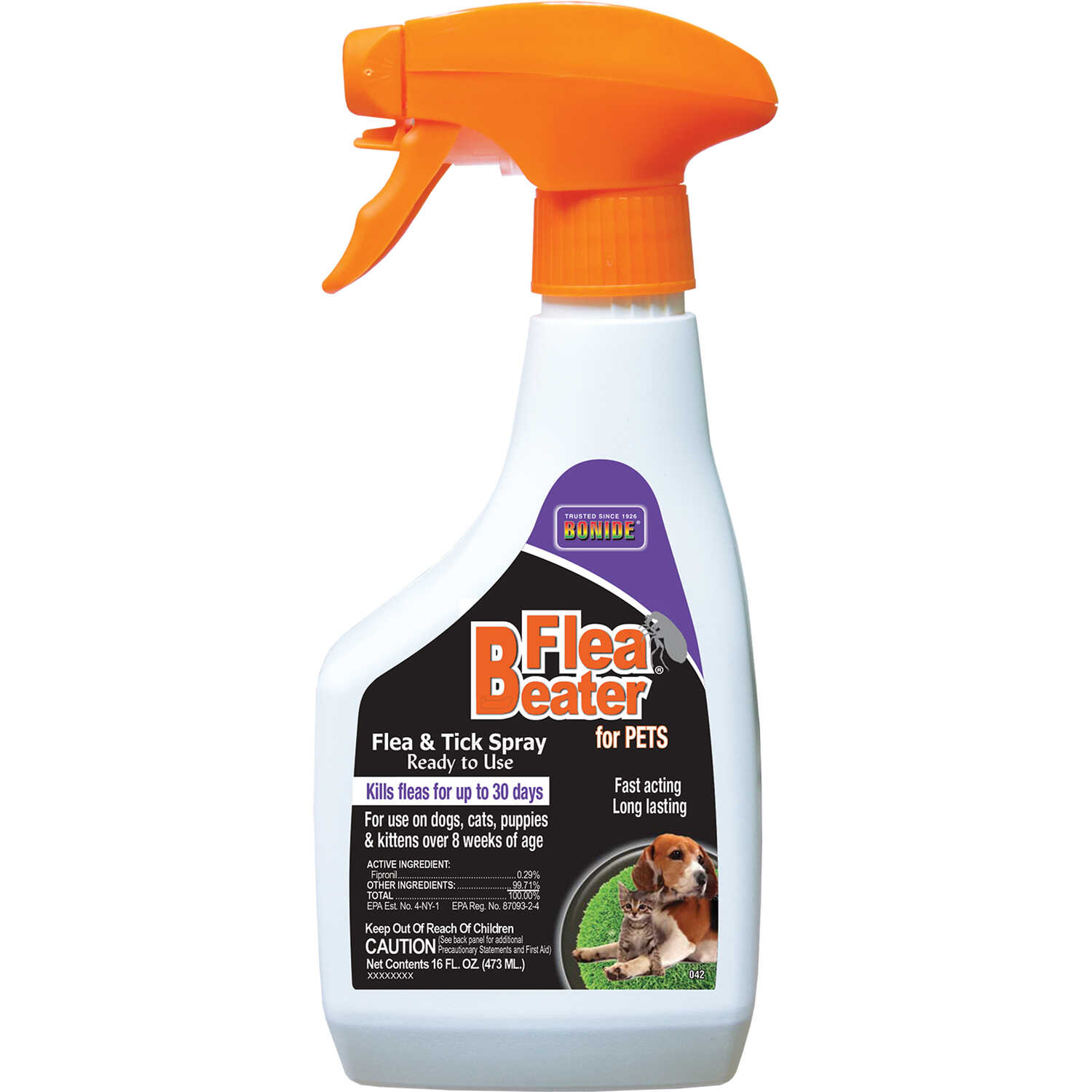 Bonide  Flea Beater  Flea & Tick Spray  16 oz.