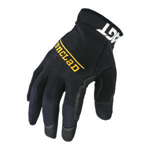 Ironclad  Men's  Synthetic Leather  Work  Gloves  Black  XL  1 pair