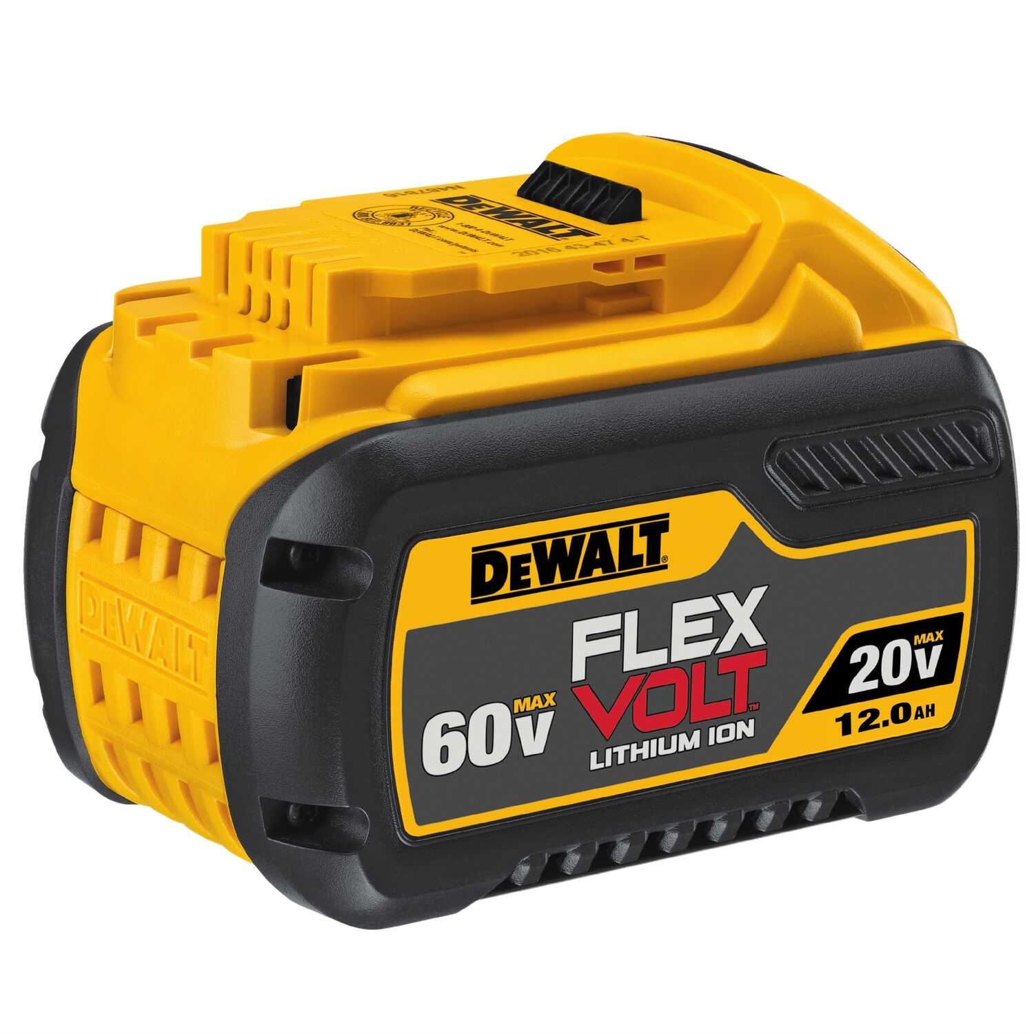 DeWalt  Flexvolt  DCB612  20/60 volt 12 Ah Lithium-Ion  High Capacity Battery Pack  1 pc.