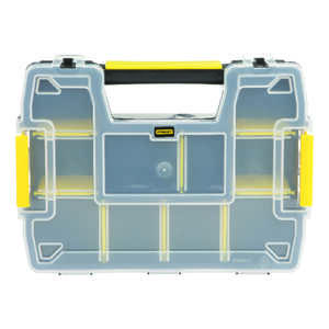 Stanley  ort Master  11-1/2 in. L x 2-1/2 in. W x 3 in. H Storage Organizer  Plastic  8 compartment