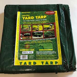 Gosport  Green  5.33 ft. W x 5.33 ft. L x 5.33 ft. L x 5.33 ft. W Polyethylene  Green  Heavy Duty  Y