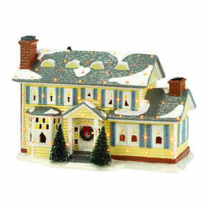 Department 56  Christmas Vacation Griswold Holiday Home  Porcelain Village House  Multicolored  1 ea