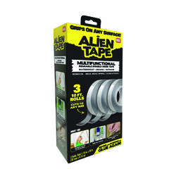 Alien Tape 30 ft. L Double Sided Tape Clear