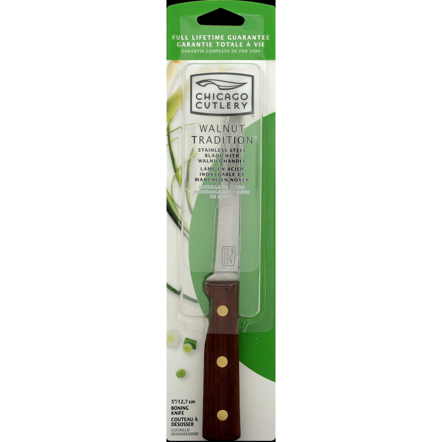 Chicago Cutlery  5 in. L Stainless Steel  Utility Knife  1 pc.