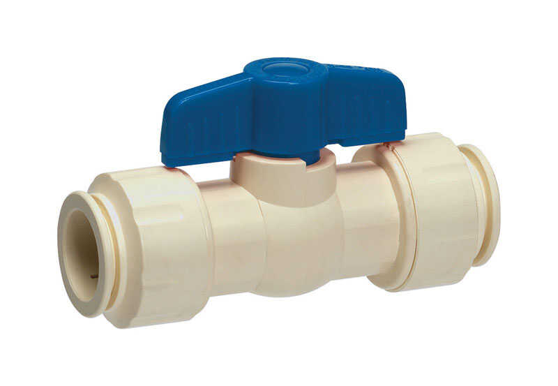 Homewerks  1/2  CPVC  Push-to-Connect  Ball Valve