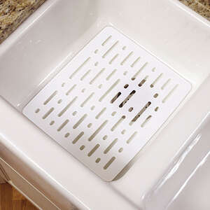 Rubbermaid  10.7 in. W x 12.7 in. L Small Sink Mat