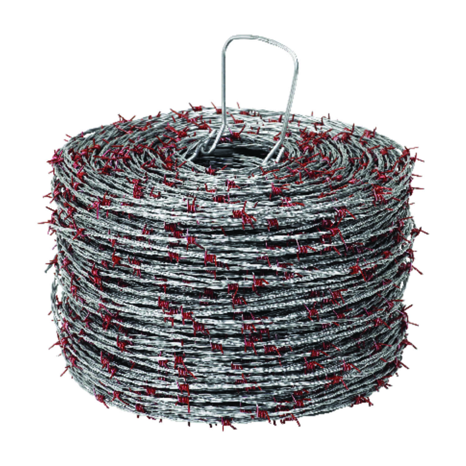 Red Brand  1320 ft. L 15 Ga. 4-point  Galvanized Steel  Barbed Wire